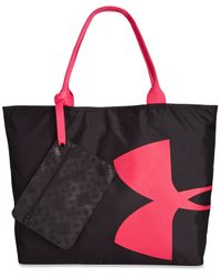 Under Armour | Pink Big Logo Tote Bag | Lyst
