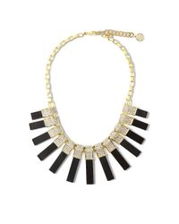 Vince Camuto | Metallic Louise Et Cie Rectangular Spike Crystal Detail Necklace | Lyst