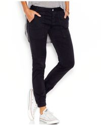 Joe's Jeans | Joe's Ankle-zip Jeans, Jet Black Wash | Lyst