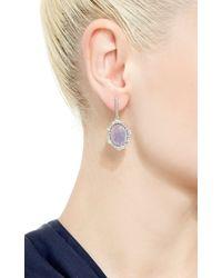 Kimberly Mcdonald - Blue One Of A Kind Tanzanite And Irregular Diamond Earrings - Lyst