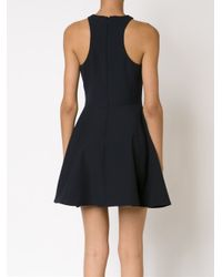 Elizabeth and James - Blue Flared Mini Dress - Lyst