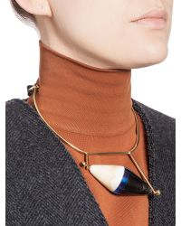 Marni | Blue Runway Necklace In Horn | Lyst