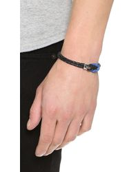 Miansai | Black Savoy Bracelet for Men | Lyst