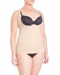 Spanx | Natural Shape My Day Open-bust Plus-size Camisole | Lyst
