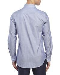 Moods Of Norway - Blue Kristian Vik Pinstripe Shirt for Men - Lyst