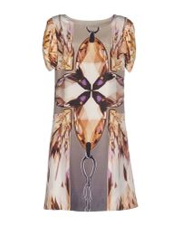 Roberta Scarpa - Natural Short Dress - Lyst