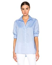 J Brand - Blue Atlantic Top - Lyst