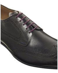 PS by Paul Smith - Brown Franz Brogues for Men - Lyst