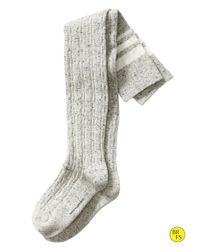 Banana Republic   Gray Cable Stripe Over-the-knee Sock   Lyst