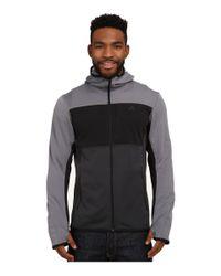 Adidas | Gray Mountainglow Fleece Hoodie for Men | Lyst