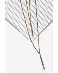 Nasty Gal | Metallic Aida Chain Necklace | Lyst