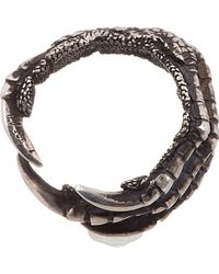 Ann Demeulemeester - Metallic Silver Claw Ring for Men - Lyst