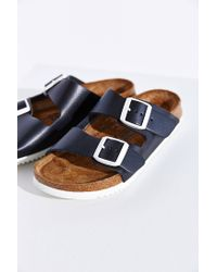 Birkenstock | Black Arizona Super Grip Soft Footbed Sandal | Lyst