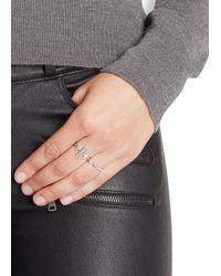 Maria Black - Metallic Caro Diamond Silver Ring - Lyst
