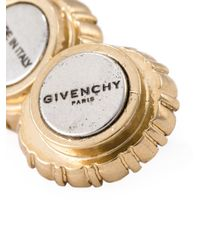 Givenchy | Metallic Gemstone Earrings | Lyst