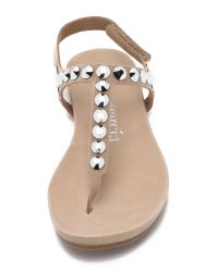 Pedro Garcia | Brown Judith Embellished Sandals | Lyst