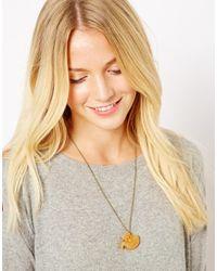 Tatty Devine | Metallic Fox Necklace | Lyst