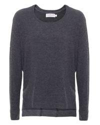 Velvet By Graham & Spencer | Gray Sancha Brushed Sweater | Lyst