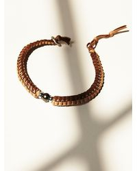 Free People | Brown Buju Womens Pearl Choker | Lyst