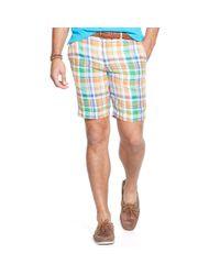 Ralph Lauren - Blue Classic-fit Linen Madras Short for Men - Lyst