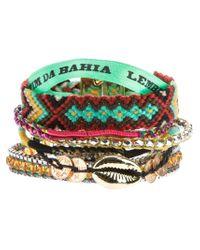 Hipanema - Multicolor Ethnic Bracelet - Lyst
