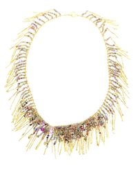 Natasha Collis | Multicolor 18kt Yellow Gold Treasure Necklace | Lyst