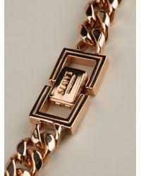 Mawi | Metallic Geometric Crystal Necklace | Lyst