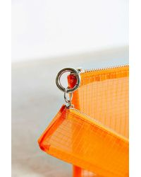 Urban Outfitters - Orange Mesh Pouch Set - Lyst