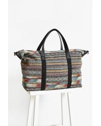 BDG | Brown Pattern Weekender Bag | Lyst