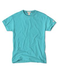 Todd Snyder | Green Classic Crew T-shirt In Aquamarine for Men | Lyst