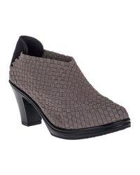 Bernie Mev | Gray Chesca Bootie Smoke Fabric | Lyst