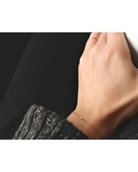 Vrai & Oro | Pink Solitaire Diamond Bracelet | Lyst