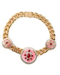 Shourouk | Pink 'maximus' Necklace | Lyst