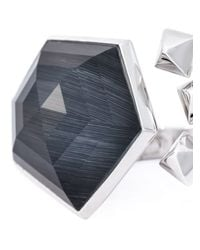 Stephen Webster | Metallic Geometric Stone Ring | Lyst
