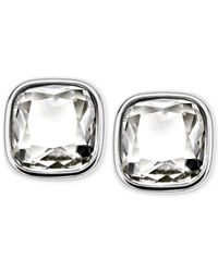 Michael Kors | Metallic Crystal Stud Earrings | Lyst