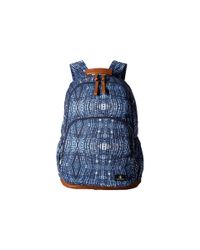 Volcom | Blue Fieldtrip Canvas Backpack | Lyst