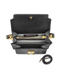 Marni - Gray Carbone Leather Mini Trunk Bag - Lyst