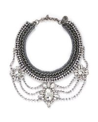 Venessa Arizaga | Metallic 'high On Your Love' Necklace | Lyst