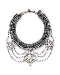 Venessa Arizaga | Metallic 'high On Your Love' Necklace | Lyst