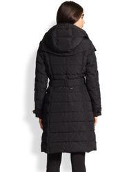 Burberry - Black Allerdale Mid-length Puffer - Lyst