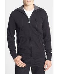 Burberry Brit | Black Pearce Full Zipped Hoodie for Men | Lyst
