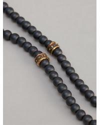Roman Paul - Black Cross Necklace - Lyst