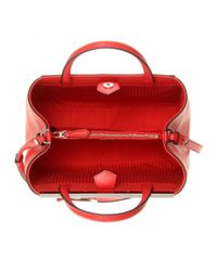 Fendi - Red 2jours Small Leather Tote - Lyst