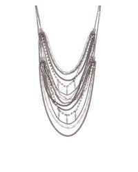 Henri Bendel - Metallic Nolita Convertible Crystal Necklace - Lyst