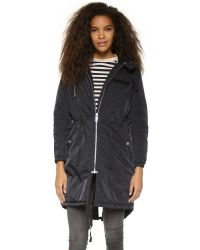 Cheap Monday | Search Parka - Black | Lyst