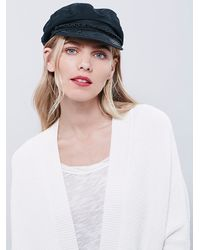 Free People | White Womens Directional Rib Cardigan | Lyst