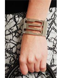 Balenciaga - Metallic Gold-Tone Bracelet - Lyst