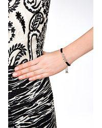 Juicy Couture - Love Friendship Bracelet - Black - Lyst