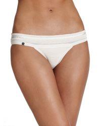 Hervé Léger - White Braided Bikini Top - Lyst