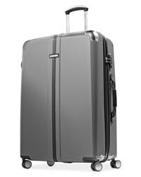 "Hartmann | Black Closeout! 60% Off Herringbone 30"" Hardside Spinner Suitcase for Men 